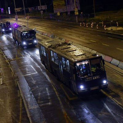 En busstransport med flyktingar åkte från Ungern till Österrike natten till den 5 september 2015.