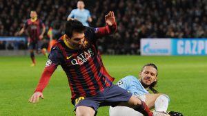 Martin Demichelis kapar Lionel Messi