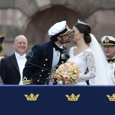 Prins Carl Philip och prinsessan Sofia,