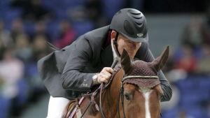 Heinrich Hermann vid Helsinki International Horse Show 2007.
