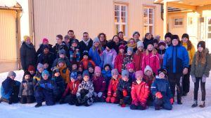 Bäckby skola i Pedersöre.