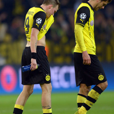 Dortmund kämpade tappert mot Real Madrid men blev utslaget.