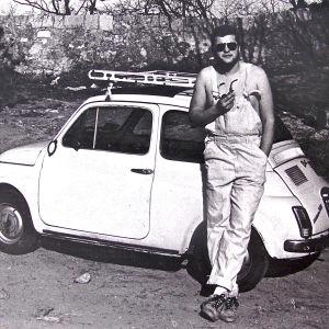 Jaakko Heinimäki 21-vuotiaana Italiassa
