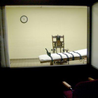 Sähkötuoli Ohiolaisessa vankilassa.