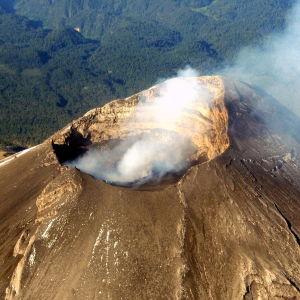 Vulkanen Popocatépetl i Mexiko.