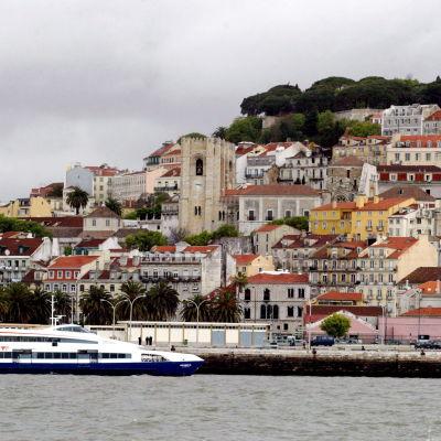 Den historiska delen av Portugals huvudstad Lissabon.