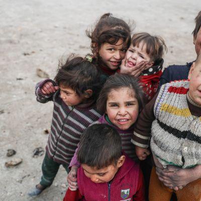 Lapsia Syyriassa