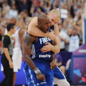 Jamar Wilson var på hugget då matchen mot Frankrike stod och vägde.