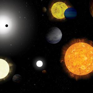 planeettoja piirroksena