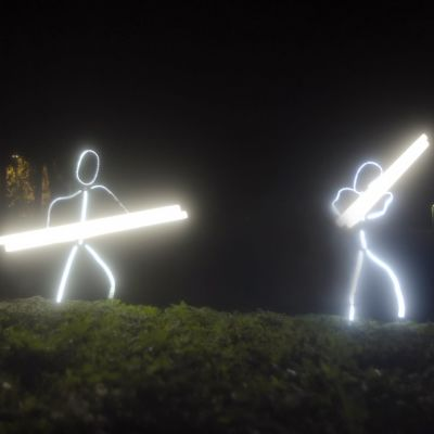 Valohahmot kantavat valokeppejä.