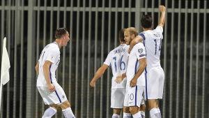 Finland vann över Kosovo med 1-0.