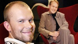 Jere Karalahti Timo Seppäsen haastateltavana Persona non grata -ohjelmassa 2003
