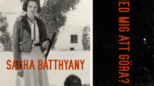 """Pärmbild till Sacha Batthyanys bok """"Och vad har det med mig att göra?"""""""