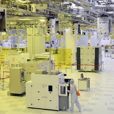 SK Hynix fabrik i Sydkorea ska bygga tre nya prodktionslinjer för halvledare