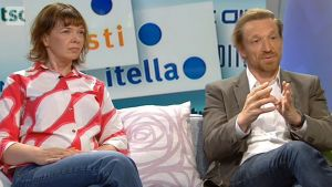 Terhi Ainiala och Marco Mäkinen.