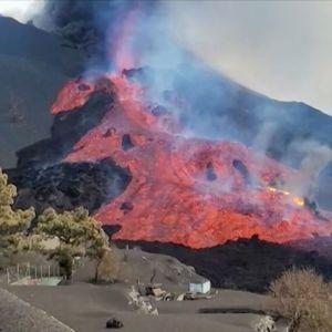 Vulkanutbrottet på La Palma, Kanarieöarna.