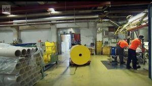 Pappersfabriken i Kauttua läggs ner.