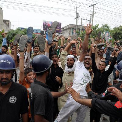 protester i islamabad