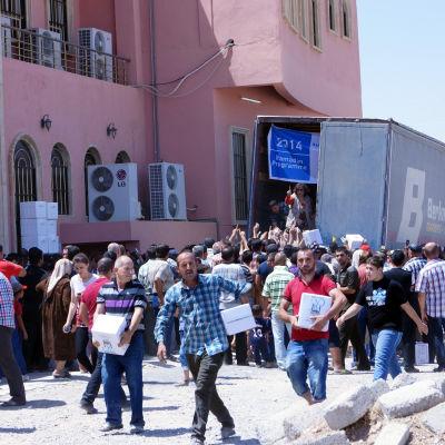 kristna på flykt i irak