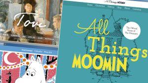 Tre webbplatser om Tove Jansson och hennes skapelser
