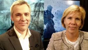 Anders Adlercreutz och Anna-Maja Henriksson.
