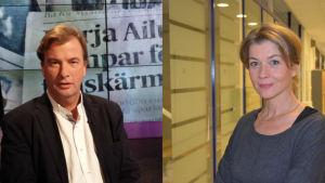 Staffan Bruun och Jeanette Björkqvist.