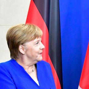 Angela Merkel och Recep Tyyip Erdoğan