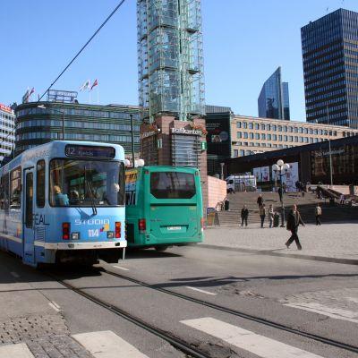 Jernbanetorget i Oslo.