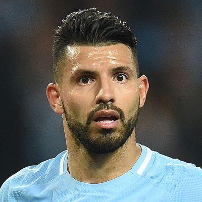 Manchester Cityn Sergio Aguero.