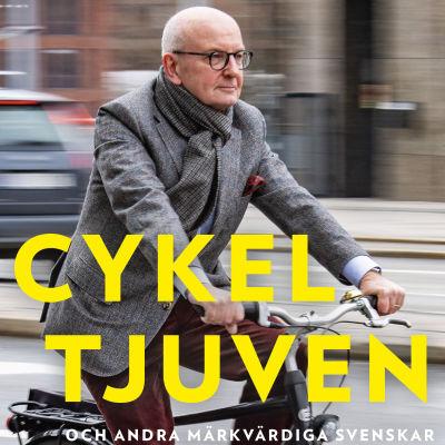 Peter Kadhammar: Cykeltjuven (bokomslag).