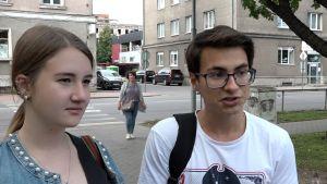 Diana och Danil från Narva.