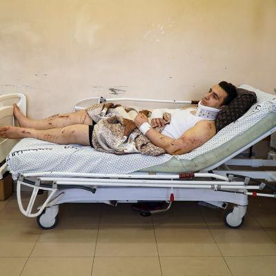 Omar Abu al-Ouf selvisi Israelin ilmaiskusta, mutta kaikki muut perheenjäsenet menehtyivät.