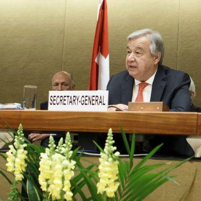 António Guterres, FN:s generalsekreterare.