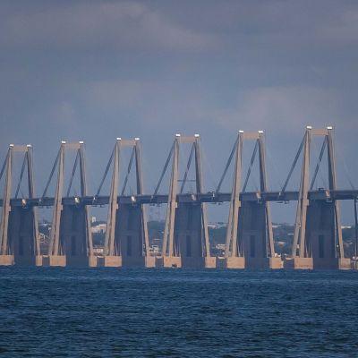 Venezuelan Maracaibossa sijaitsevaa Riccardo Morandin silta.
