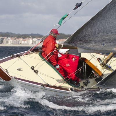 Juan Carlos I purjehtii