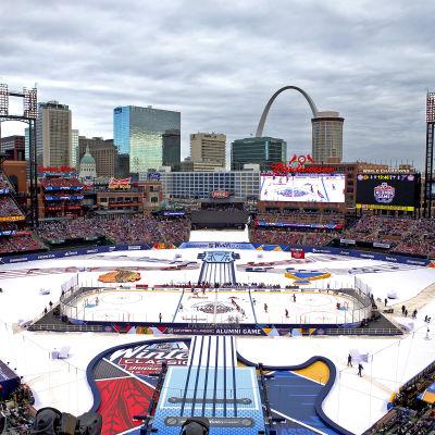 Basebollstadion i St. Louis.