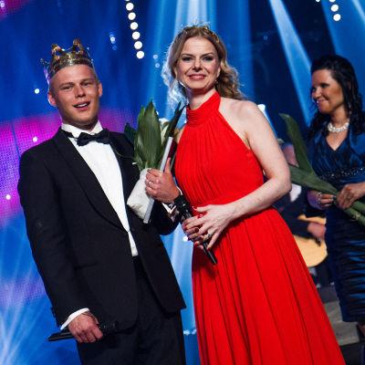 Tangokuninkaalliset 2015: Aki Samuli ja Susanna Heikki.