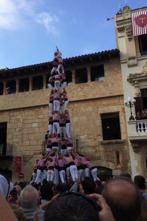 Castell (4de9f) på Plaça de la Vila i Vilafranca del Penedès