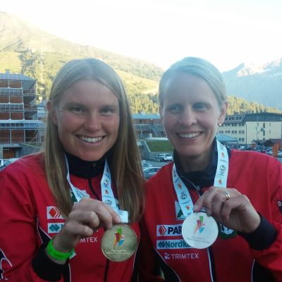 Yvonne Gunell och Sanna Nymalm