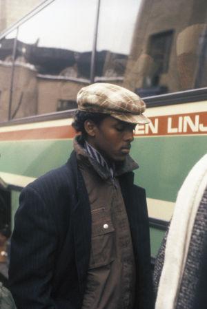 Somalier anländer till Helsingfors, 1990