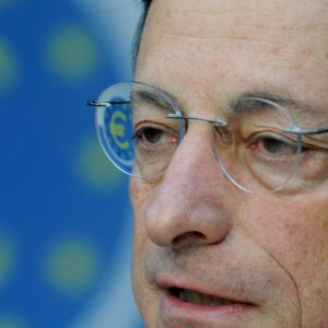 ECB-chefen Mario Draghi, augusti 2012.