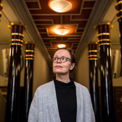 – Orionin valeperspektiivi saa tilan vaikuttamaan pidemmältä. Se on ainutlaatuinen, sanoo Helsingin kaupunginmuseon tutkija Johanna Björkman.
