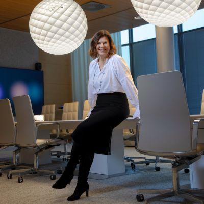 Satu Kiiskinen haluaa naisia lisää teknologiayrityksiin.