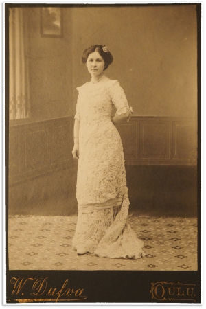 Alma Kuula, Oulu 1911.