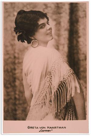 Greta von Haartman.