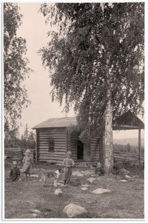 Savusauna Keski-Suomessa n. 1900-1915.