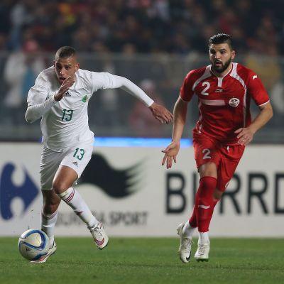 Algerian Islam Slimani ja Tunisian Syam Ben Youssef.