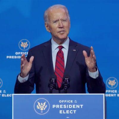 USA:s blivande president Joe Biden lovar att 100 miljoner amerikaner kommer att vaccineras under hans första 100 dagar som president.