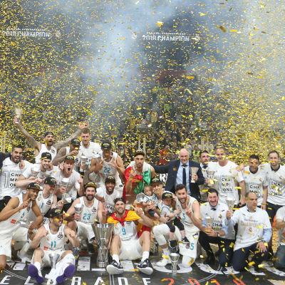 Real Madrid Baloncesto vann Euroleague i herrbasket 2018.