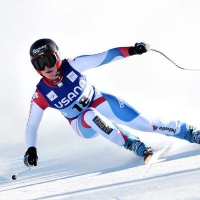 Lara Gut i farten i super-G 2013.